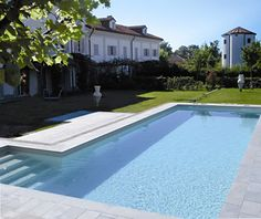 Acqua SPA - Tipologia delle piscine Swimming Pool Images, Swimming Pools, Architecture Design, New Homes, Outdoor Decor, House, Pool Installation, Diy Patio, Small Backyard Pools
