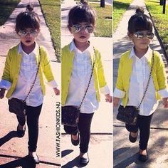 definitely dressing my daughter like this. i swear this little girl looks like a mini kourtney kardashian