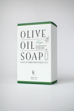 FAIV KEI OLIVE OIL SOAP Package on Behance