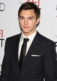 nicholas hoult from warm bodies.  we rented this the other night, and he's a zombie i would love!! :)