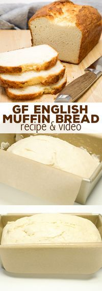 Gluten Free English Muffin Bread�Easy GF Sandwich Bread!