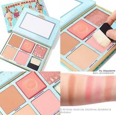 The Cheek Parade bronzer and blush palette by Benefit Cosmetics