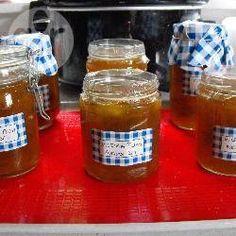 Simple plum jam