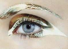 #gold #shiny #makeup