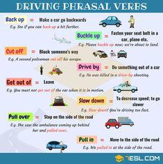 Driving Phrasal Verbs