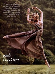 Gisselle Bündchen for.Vogue US September 2004 by Steven Meisel