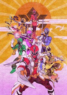 Super Sentai - samurai sentai Shinkenger