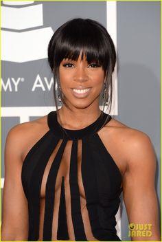 #Kelly Rowland won't be a single lady much longer #LorraineSchwartz #GrammyJewelry