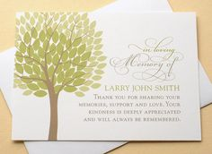 English Or Spanish Sympathy Thank You Cards With A Big Yellow