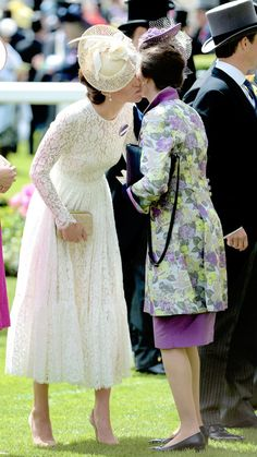 The Royal Watcher: Catherine, Duchess of Cambridge and Princess Anne on Day 2 of Royal Ascot on June 15, 2016.