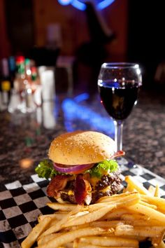 Here at the CWC, we believe all food is created equal! Next time you have yourself a bacon cheeseburger try pairing it with a nice merlot!