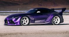 Very Wide Very Purple 2020 Toyota GR Supra Is An Attention Seeker cars luxury car quotes living in car car ride quotes decorating car car rides on car in the car car ideas New Toyota Supra, Toyota Celica, Toyota Corolla, Japanese Sports Cars, Modified Cars, Jdm Cars, Car Wallpapers, Amazing Cars, Luxury Cars