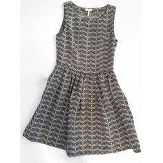 Joie dress Black/white/gray designed dress Joie Dresses