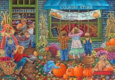 Pumpkin Time  by  Tricia Reilly-Matthews (American)