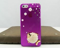 Fashion sish case Transparent  Violet case fish  by dnnayding, $17.99