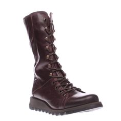 Womens Purple Fly London Ster Boots | schuh