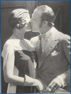 Natacha Rambova and Rudolph Valentino