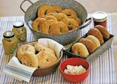 5 Homemade Bagel & Other Boiled Bread Recipes  Plain Bagels Recipe  Jalapeño Bagel Recipe  Pumpkin Spice Bagels  Herbed Cornmeal Dumplings  Soft Pretzels