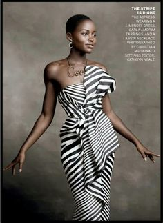 I'm totally obsessed with Lupita, such a gorgeous girl and so chic!