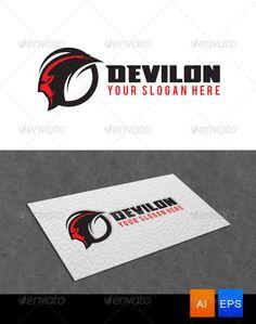 Devil Logo Template