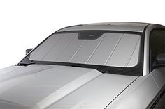 Covercraft UVS100 (UV11085SV)- Series Custom Fit Windshield Shade for Select Ford Pickup/F150 Models - Triple Laminate Construction (Silver)