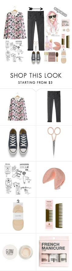 """Sin título #147"" by albalinet28 ❤ liked on Polyvore featuring Rachel Comey, Converse, Anastasia Beverly Hills, Marc, Wildfox, ESPRIT, Calvin Klein, Eva NYC, Topshop and H&M"