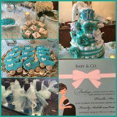 Tiffany & Co baby shower