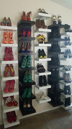 Lack Dall Shoe Shelves from Ikea