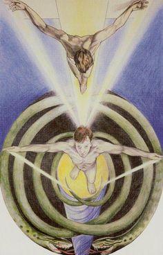 IX. The Hermit - Via Tarot by Susan Jameson, John Bonner