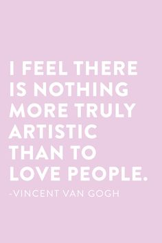 Van Gogh knows what's up! #bitsquotes