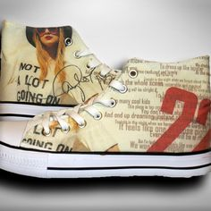 Taylor Swift Fan Shoes http://22taylorswift.com/