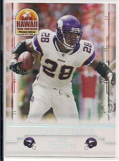 2008 Donruss Playoff  Hawaii Trade Conference Adrian Peterson #1 of 6 Vikings