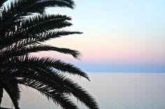 Romantic sunset from the Balcon de Europa
