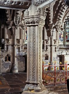 Rosslyn Chapel, Master Mason Pillar