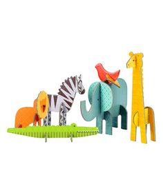 Take a look at this Safari Pop-Out Play Set today!