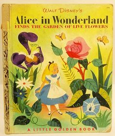 Alice in Wonderland Finds the Garden of Live Flowers