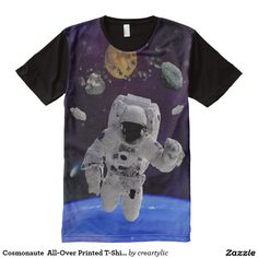 Cosmonaute  All-Over Printed T-Shirt All-Over Print T-shirt
