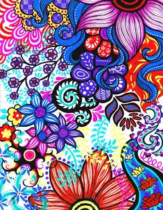 doodle zen pen gel zentangle easy patterns inspiration ma michelle doodles drawings