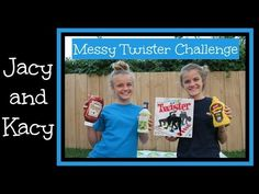 Messy Twister Challenge ~ Jacy and Kacy - YouTube