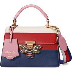 Gucci Queen Margaret Leather Top Handle Bag Borse Di Gucci 77c4fabdfb7f