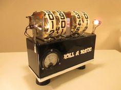 "High-Powered Flip Clock * The ""Roll-A-Matic"" * Mechanical Clock Of The F..."