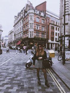 shoes/JC, dress/Mango, jacket & beret/Brandy Melville, bag/Stella McCartney Hi babes, I'm in London! I arrived here l...
