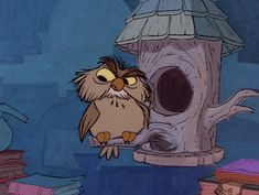 Owl Mail, disney: Archimedes from sword in the stone