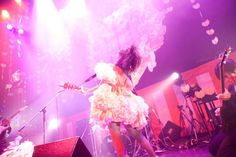 大森靖子 ☆2日間で超楽しい地獄をつくる方法☆ 2日目公演の様子 Photo by Masayo