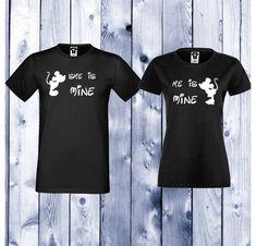 Tricouri pentru cupluri She is Mine - He is Mine - Negru My King, King Queen, Milan, T Shirts For Women, Boys, Mens Tops, Fashion, Baby Boys, Moda