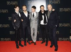Pin for Later: Who Knew the Zombie Apocalypse Would Look This Good? Sam Riley, Douglas Booth, Matt Smith, Jack Huston, and Charles Dance