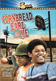 "Cornbread, Earl and Me is a 1975 American drama film that stars Tierre Turner as Earl Carter, Laurence Fishburne III as Wilford Robinson and Jamaal Wilkes as Nathaniel ""Cornbread"" Hamilton. It was directed and produced by Joseph Manduke Old Movies, Great Movies, Current Movies, Indie Movies, Movies Showing, Movies And Tv Shows, Lawrence Fishburne, African American Movies, Black Tv Shows"