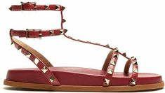 Valentino sandals in red❤