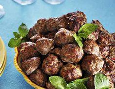 Tsäpäkät lihapullat/Meatballs, Kotiliesi.fi