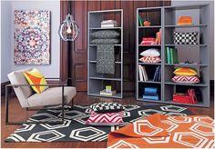 Geometric Living Room Rug
